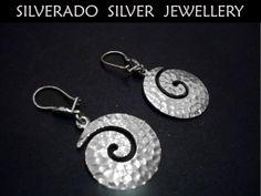 Sterling Silver 925 Greek Swirl Spiral by SilveradoJewellery, €52.00