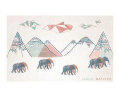 Local Natives Print