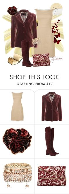 """Day's elegance"" by samra-dzabija ❤ liked on Polyvore featuring Etro, Tru Trussardi, Yves Saint Laurent, Accessorize and Dorothy Perkins"