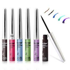New Brand Makeup Eyeliner Purple Brown Liquid Eyeliner Beauty Makeup Eye Liner Pencil Comestics maquiagem