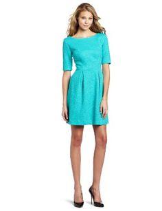 Trina Turk  Trina Turk Women's Epidote Pebbled Ponte Dress  Be the first to review this item | Like (0)  Price:$388.00