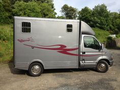 This 2001 Renault Master Marlborough horsebox travels two horses and is currently for sale at £9,495 | For sale on HorseDeals.co.uk