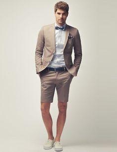 Shorts + Blazer = Win