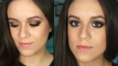 Maquillaje de noche: ojos ahumados cafés | Tutorial - Ruboradero / Dark brown smokey eyes