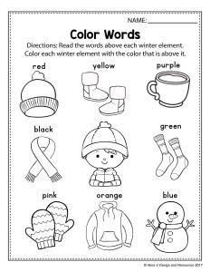 Alinavdesign Com Kindergarten Math Worksheets Preschool Worksheets Kindergarten Worksheets Kindergarten winter worksheets printable