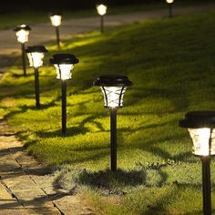 Solar Path Lights, Pathway Lighting, Outdoor Lighting, Outdoor Decor, Shape Coding, Color Rendering Index, Pathways, Lawn And Garden, Bulb