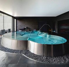 Stock Tank Swimming Pool Ideas, Get Swimming pool designs featuring new swimming pool ideas like glass wall swimming pools, infinity swimming pools, indoor pools and Mid Century Modern Pools. Find and save ideas about Swimming pool designs. Dream Bathrooms, Dream Rooms, Small Bathroom, Shower Bathroom, Paint Bathroom, Master Bathroom, Bathroom Mirrors, Wall Mirrors, Modern Bathroom