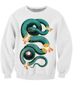 Citrus Snake Sweatshirt    Mopixiestore.com