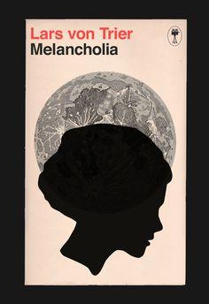 MELANCHOLIA FILM POSTER Lars Von Trier by EncoreDesignStudios