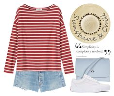 """Apr 2nd (tfp) 3331"" by boxthoughts ❤ liked on Polyvore featuring RE/DONE, Toast, Topshop, Vans, Betsey Johnson and tfp"