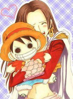 One Piece - Luffy x Hancock One Piece Ship, One Piece Luffy, One Piece Dress, Anime Echii, Anime One, Me Me Me Anime, Dbz, Luffy And Hancock, Anime Pirate