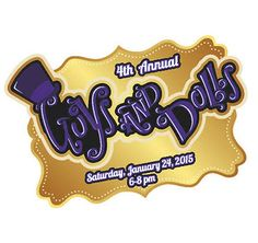 Logo Customization Design: Guys and Dolls Wonka