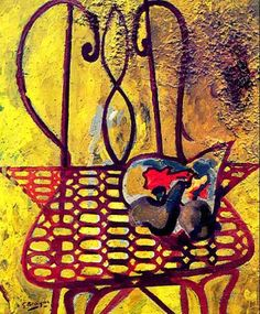 Georges Braque, one of the founders of Cubism, during his Fauvist phase.