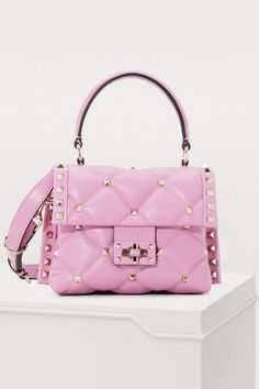 Buy Valentino Valentino Gavarani Candy quilted handbag online on 24 Sèvres. Shop the latest trends - Express delivery & free returns Fall Handbags, Quilted Handbags, Burberry Handbags, Valentino Bags, Valentino Garavani, Popular Handbags, Handbags Online, Pamela, Shopping