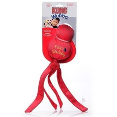 KONG Wubba Classic Dog Toy, Red, Large -- Check out this great product. (This is an affiliate link and I receive a commission for the sales) Kong Dog Toys, Doggies, Classic, Red, Amazon, Link, Check, Little Puppies, Derby