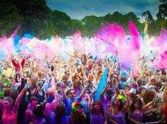 Celebrate the festival of colors with all the fun Holi 2020 parties in Roswell. Make Holi celebration one unforgettable one with color runs, beach parties and interesting Holi events near you. Happy Holi Quotes, Happy Holi Images, Happy Holi Wallpaper, Holiday Wallpaper, National Festival, Festival 2017, Hindu Festivals, Indian Festivals, Music Festivals