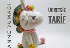 Crochet Toys Patterns, Stuffed Toys Patterns, Crochet Dolls, Doll Patterns, Knitting Patterns, Crochet Horse, Crochet Unicorn, Doll Toys, Baby Dolls