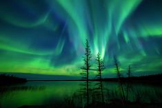 How to photograph the northern lights.