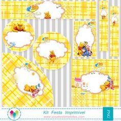 Kit festa Pooh - Printable Party Pooh