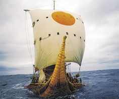 "Thor Heyerdahl - ""Kon-Tiki"". A major contributor to my love of the sea, ships, sailing, and voyaging to and thru French Polynesia when I was a young man. I started devouring his books when I was about 10. In the 80's I met one of his crew on the Ra Expedition. Fascinating... McC"