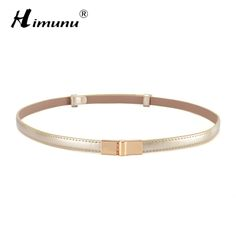 Fashion Luxury Brand Painting Genuine Leather Belt For Women Thin Waist Women Belt For Dress Summer Style Leather Belts