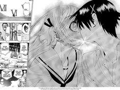 Manga Nisekoi Raku and Chitoge Kiss Read High Quality scans of Nisekoi Manga Online | Nisekoi Forum