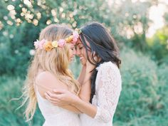 So, no big surprise, i'm a lesbian. i'm very happily married to a woman – we've been married for almost two years and together for nearly ten. Lesbian Love, Cute Lesbian Couples, Lesbian Pride, Lgbt Wedding, Lesbian Wedding Photos, Two Brides, Girls In Love, Couple Photography, Wedding Inspiration