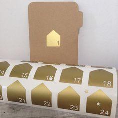 Stickers little home matt gold stickers (photo 1)