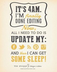 Haha!!! Yep that is about right! One of the reasons I don't Blog :-(.