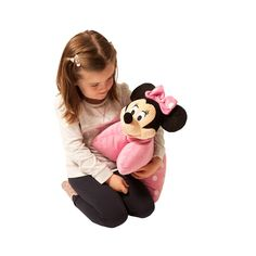 Minnie Mouse Pillow Pals Buy Toys, Toys Shop, Kids Toys Online, Pillow Pals, Stocking Fillers, Minnie Mouse, Plush, Stockings, Pillows