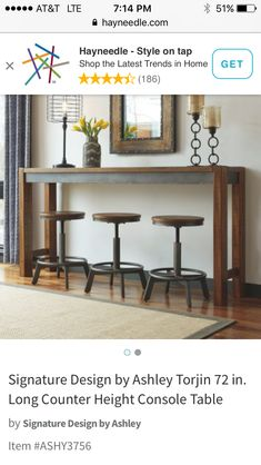 Church Welcome Center, Console Table, Entryway Tables, Family Room, Furniture, Home Decor, Style, Swag, Decoration Home