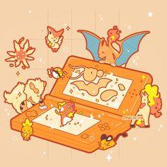 Arte Do Kawaii, Kawaii Art, Cute Pokemon Wallpaper, Cute Cartoon Wallpapers, Pokemon Super, Pokemon Fan, Kawaii Drawings, Cute Drawings, Monster Hunter