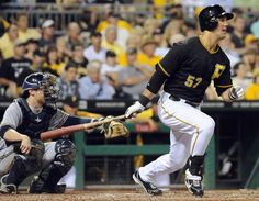 Pirates outfielder Andrew Lambo (Photo credit: Christopher Horner  |  Tribune-Review)
