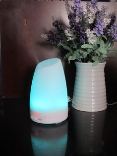 REFRESH HUMIDIFY RELAX - AROMATHERAPY DIFFUSER with 7 Color Changing LED Lamps