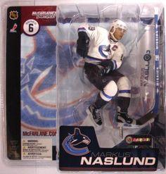 McFarlane Toys NHL Sports Picks Series 6 Action Figure Markus Naslund  Vancouver Canucks White Jersey VARIANT 879d96daf