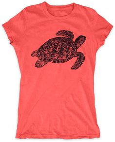 Evoke Apparel - Sea Turtle Print Womens Graphic T-shirt, $27.00 (http://www.evokeapparelcompany.com/sea-turtle-print-womens-graphic-t-shirt/)  A simple sketch style turtle womens graphic t-shirt makes a great addition to any wardrobe.