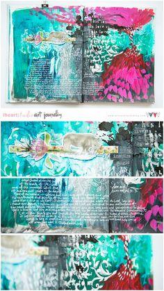 Art Journal Ramblings :)   Wilna Furstenberg Blog   Bloglovin'