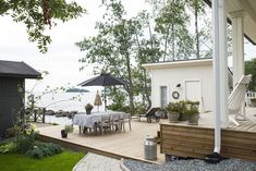 Outdoor Spaces, Outdoor Decor, Beach House, Exterior, Patio, Home Decor, December, Summer, Outdoor Living Spaces