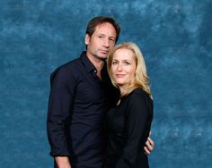 X-Files Geekery — gillovny-fx: I have not seen this photo! I've...