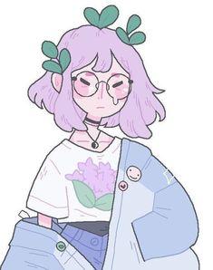 37 ideas art girl illustration friends for 2019 Kunst Inspo, Art Inspo, Anime Kunst, Anime Art, Manga Anime, Pretty Art, Cute Art, Art Fox, Alphonse Mucha
