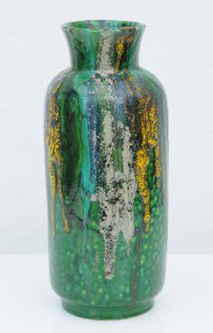 Alvino Bagni; Glazed Ceramic Vase for Raymor, c1960.