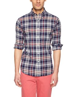 Madras Plaid Sport Shirt by Nick Point on Gilt.com