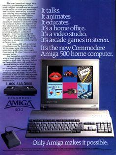 Amiga 500 advertisement