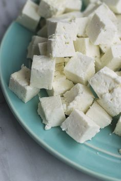 how to make paneer - just 2 ingredients & 30 mins is all you need to make paneer at home! So many delicious ways to eat this cheese! Make easy butter paneer, palak paneer or eat sauteed with salad!