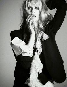 Claudia Schiffer by Daniele + Iango & Luigi for Vogue Germany April 2014