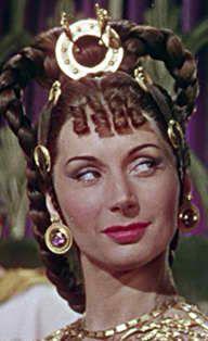 "Patricia Laffan in ""Quo Vadis"" (1951) | Char Inspiration ...Patricia Laffan Quo Vadis"