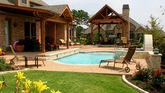 Beautiful Backyards | ... Beautiful Backyard Pools Imaginative Design : Amazing And Beautiful
