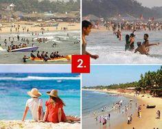 Goa  (Goa is the beautiful land of sandy beaches.)