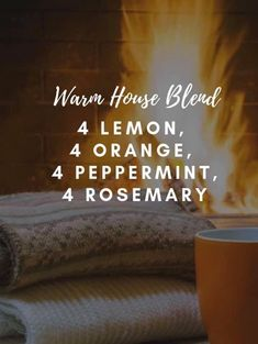 essential oil blend for warm house