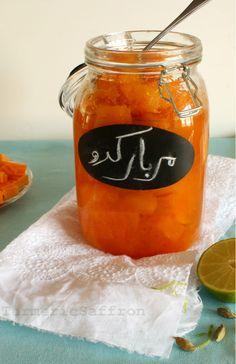 Turmeric and Saffron: Moraba-ye Kadoo Halvaie - Persian Pumpkin Jam